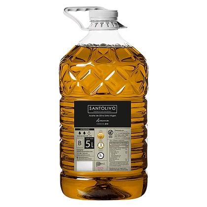 """SANTOLIVO 5 litros Aceite de oliva extra virgen """"B""""  Intensidad Media"""