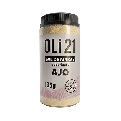 Sal de Maras saborizada - Ajo OLI21 135 gr