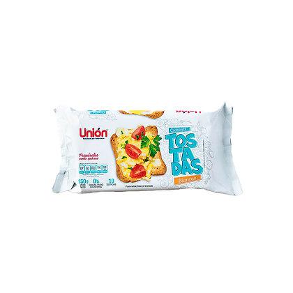 Tostadas Blancas UNIÓN Clásicas Paquete 10un