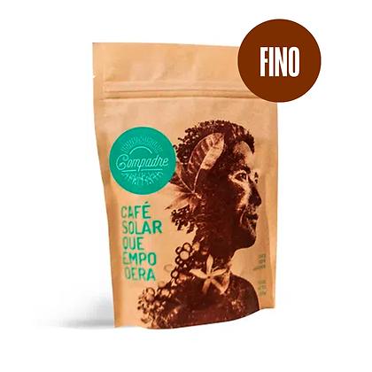 Café Orgánico Premium COMPADRE Molido Fino 250 gr