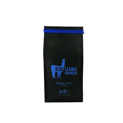 Café Orgánico Molido Dark Roaster Caturra Blue Llama 200 g
