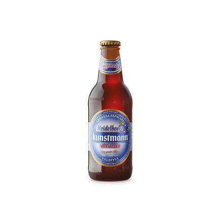 Cerveza Arándano Kunstmann Botella 300 ml