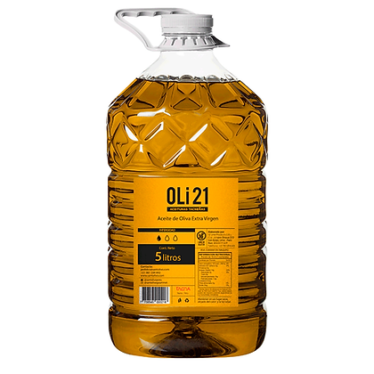OLI21 5 litros Aceite de oliva extra virgen
