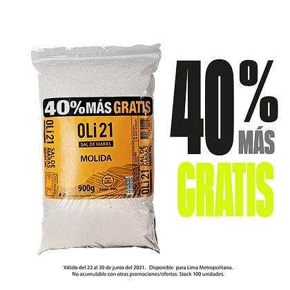 OLI21 900gr + 40% más GRATIS - Sal de Maras Molida
