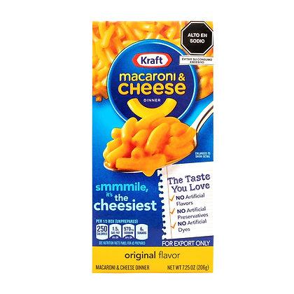 Macaroni & Cheese Original Flavor Kraft 206 g
