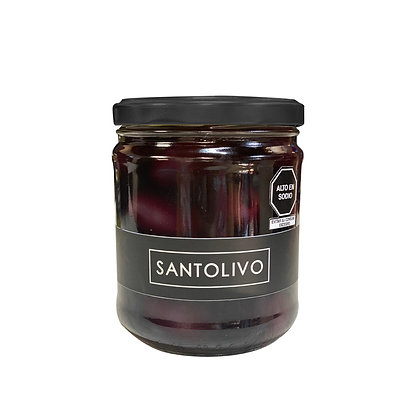 SANTOLIVO 250 gr Aceitunas negras enteras