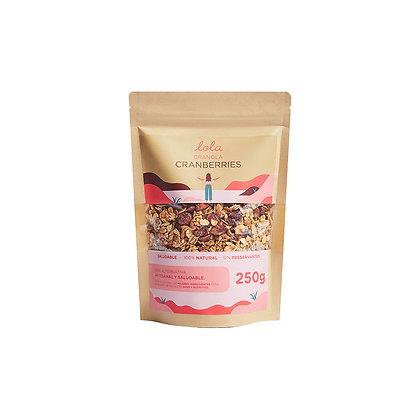 Granola de Cramberries Lola 250 g