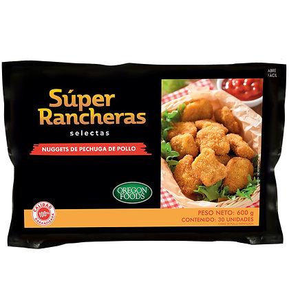 Nuggets de pechuga de pollo OREGON FOODS 600 g