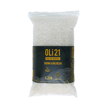 OLI21 1.25 kilos Sal de Maras Semigruesa