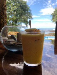 Passion Fruit Smoothie...a breakfast must have!