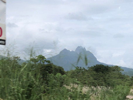View from the Pan American Highway