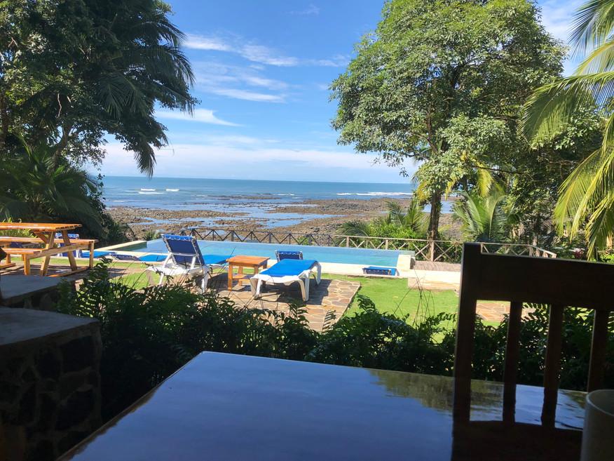 Restaurant view from Hotel Santa Catalina