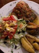 Dinner at Pescao, Hotel Santa Catalina, Veraguas, Panama