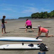 Beach practice!