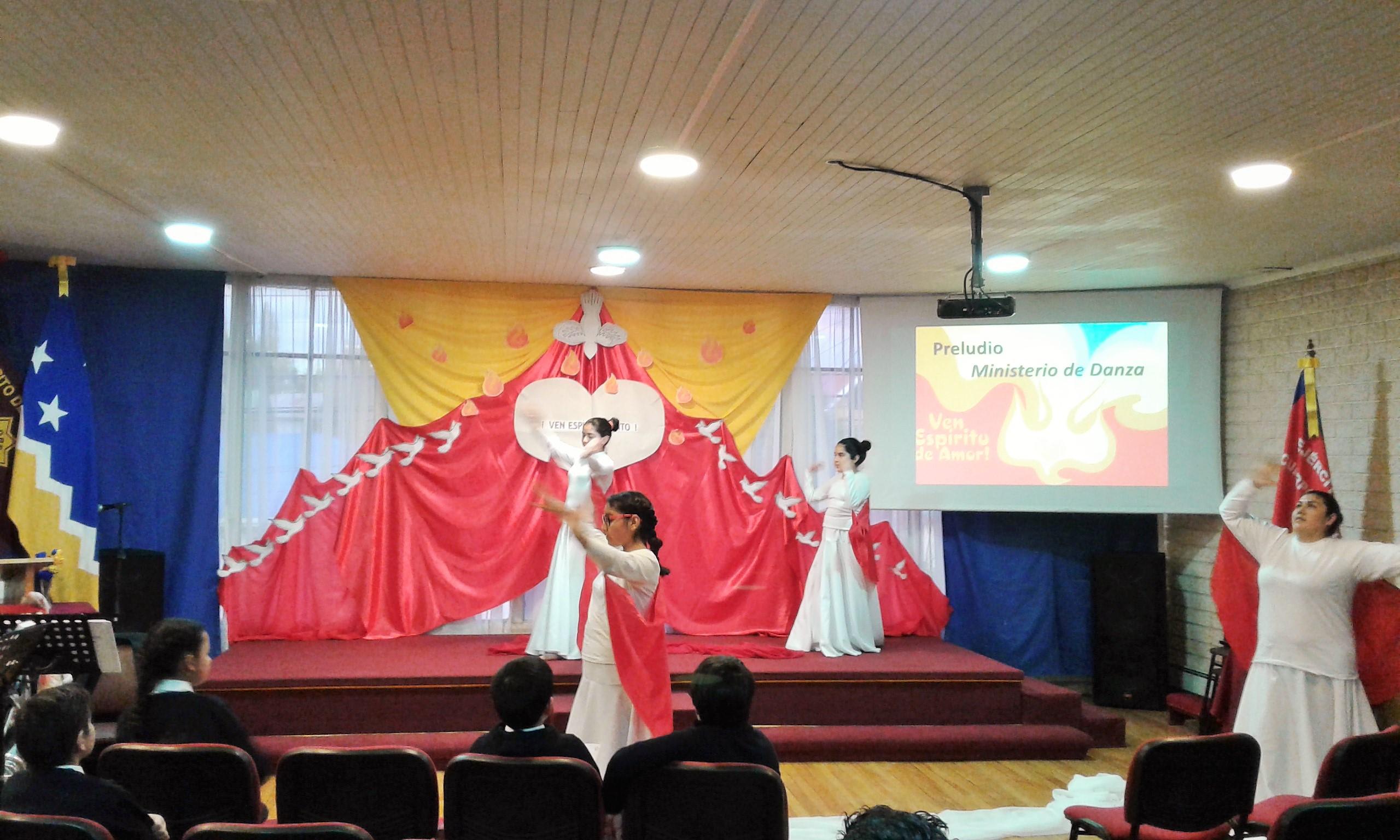 ministerio danza fiesta de pentecostes