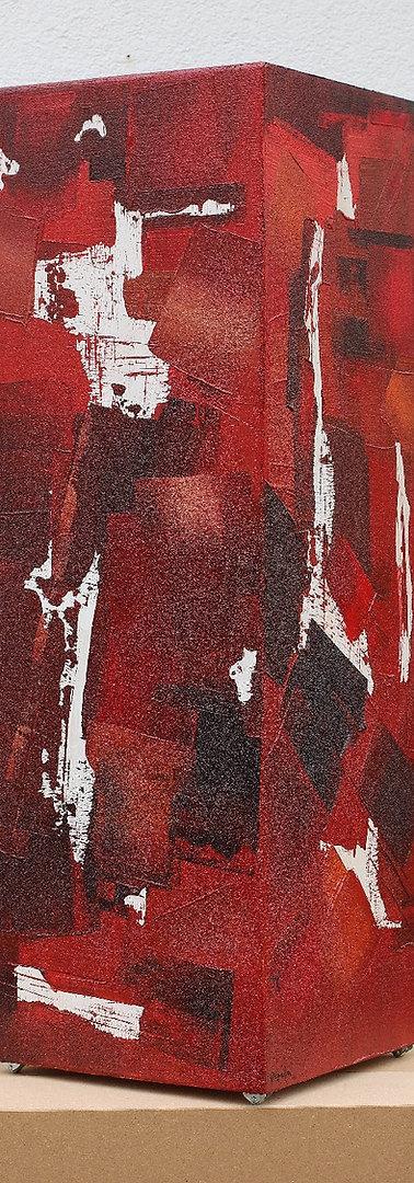 Colonne rouge