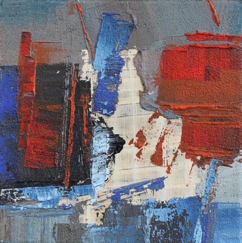 Composition acryl 20cm x 20 cm