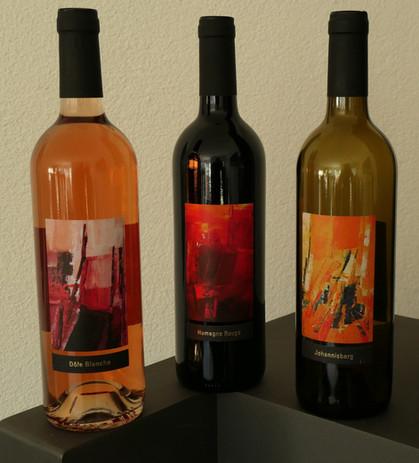 Etiquettes de vins pour le HCT