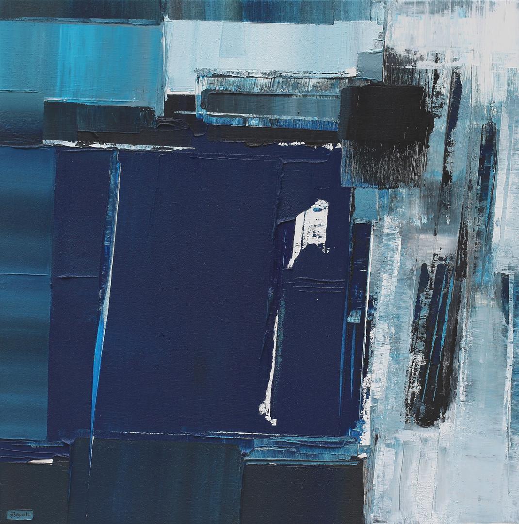 Cascade bleue