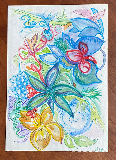 Imagined - Floral Study -