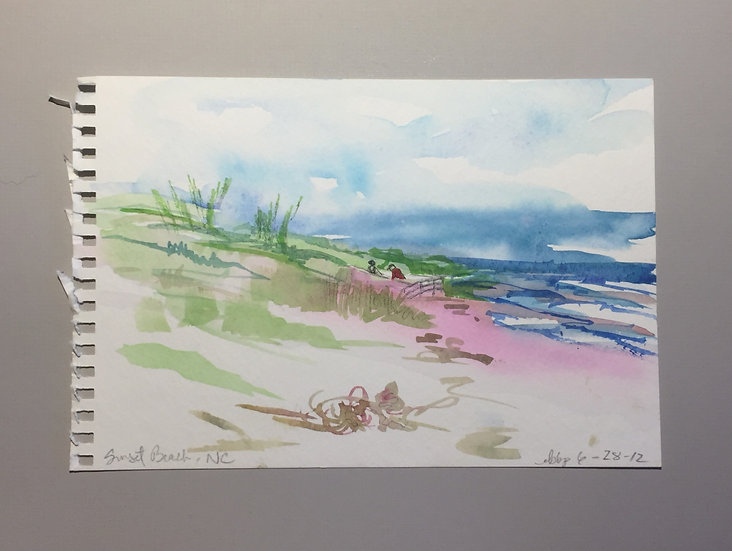 Shore Study- Sunset Beach , NC
