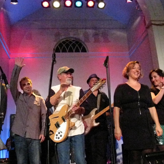 Made up of church members and other community artists, Roots Rock Revue provided a musical history of rock & roll through the ages.