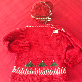 Sweaters $40. Hats $10.