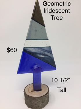 Geometric Iridescent Tree