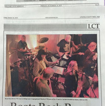 Press coverage of the Roots Rock Revue concert would bring over 500 music fans to the church each year.