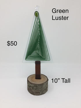 SOLD - Green Luster