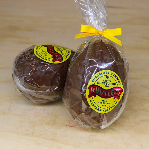 Milk Chocolate Honeycomb Egg 300g