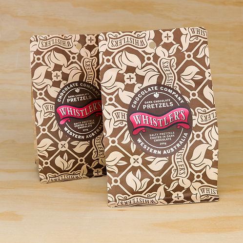 Dark Chocolate Pretzels 200g