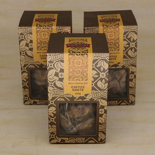 Milk Chocolate Coffee Shots Presentation Box 250g