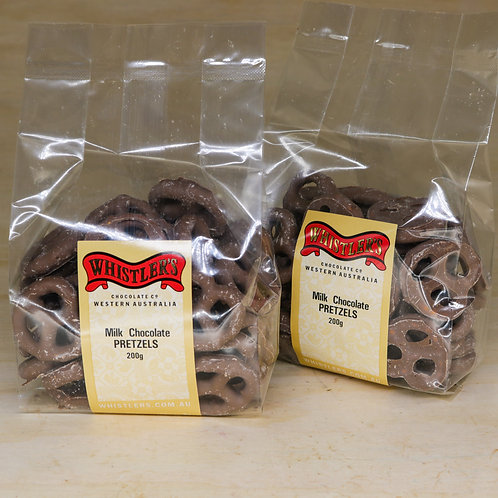 Milk Chocolate Pretzels 200g