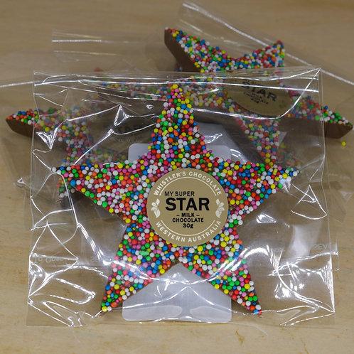 Milk Chocolate My Super Star 30g