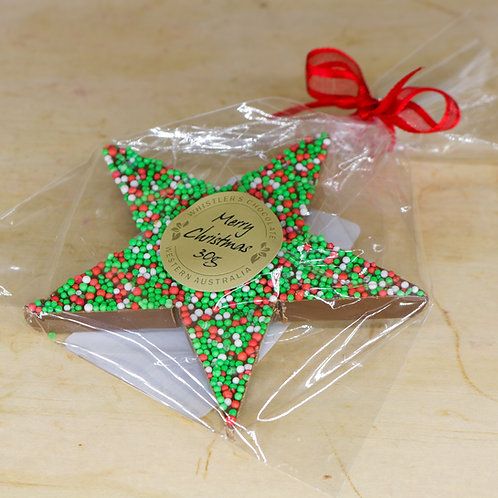 Milk Chocolate Freckle Star Small 30g