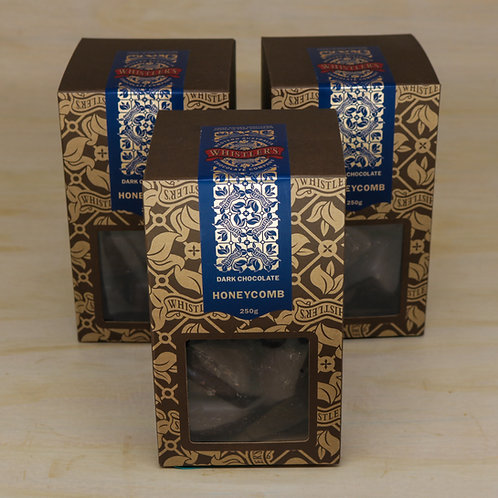 Dark Chocolate Honeycomb Presentation Box 250g
