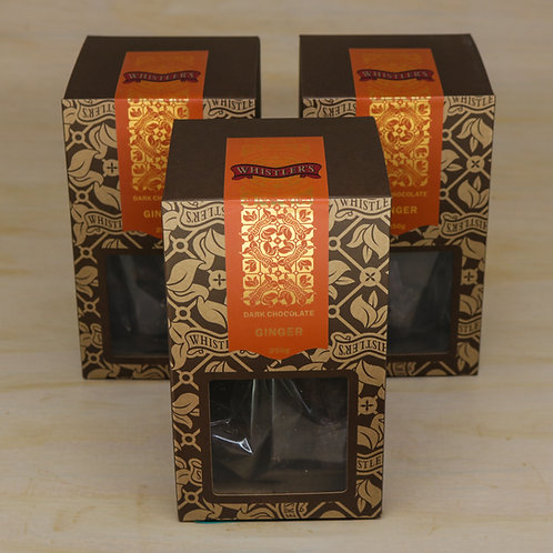 Dark Chocolate Ginger Presentation Box 250g