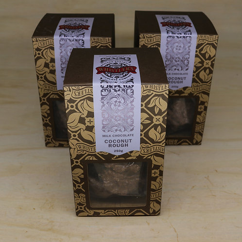 Milk Chocolate Coconut Rough Presentation Box 250g