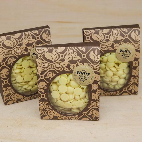 White Chocolate Buds 100g