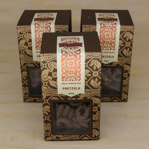 Milk Chocolate Pretzels Presentation Box 250g