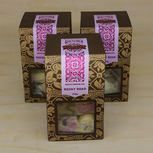 White Chocolate Rocky Road Presentation Box 250g