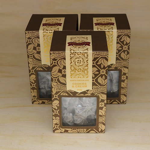 White Chocolate Cookies & Cream Presentation Box 250g