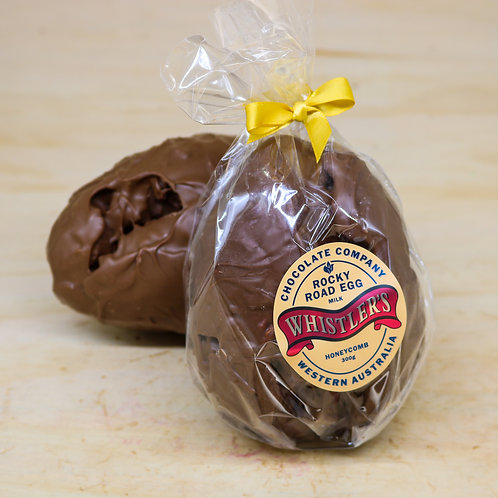 Honeycomb Rocky Road Easter Egg 300g