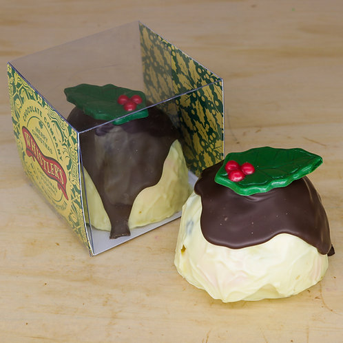 White Chocolate Pudding Pistachio & Cranberry 200g