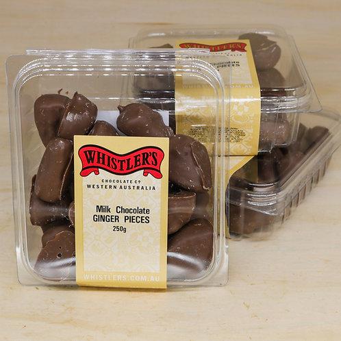 Milk Chocolate Ginger 250g