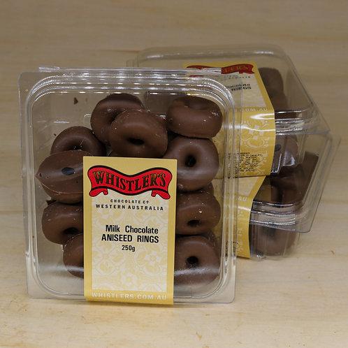 Milk Chocolate Aniseed Rings 250g