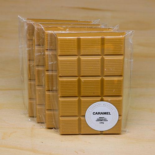 Caramel Chocolate Bar 100g