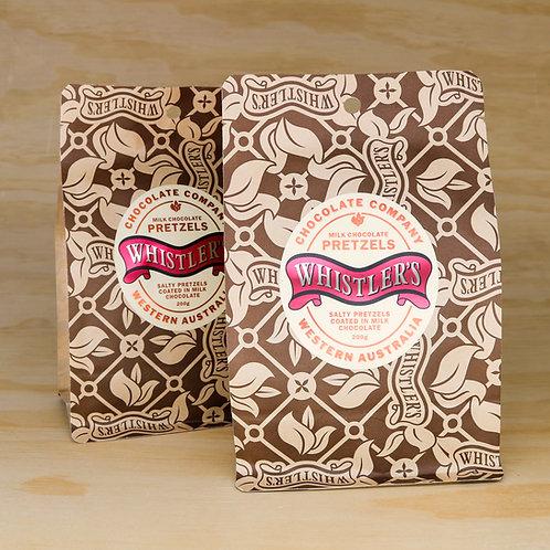 Milk Chocolate Pretzels 200g