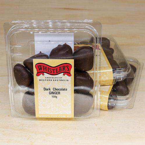 Dark Chocolate Ginger 150g